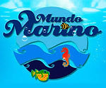 Logo mundo marino