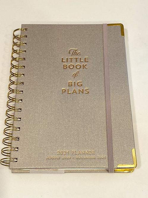 The Little Book of Big Plans 2021 Planner
