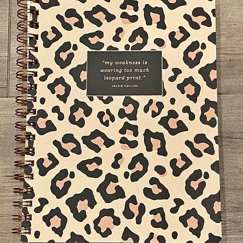 Too Much Leopard Journal