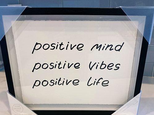 Positive Mind Wall Art