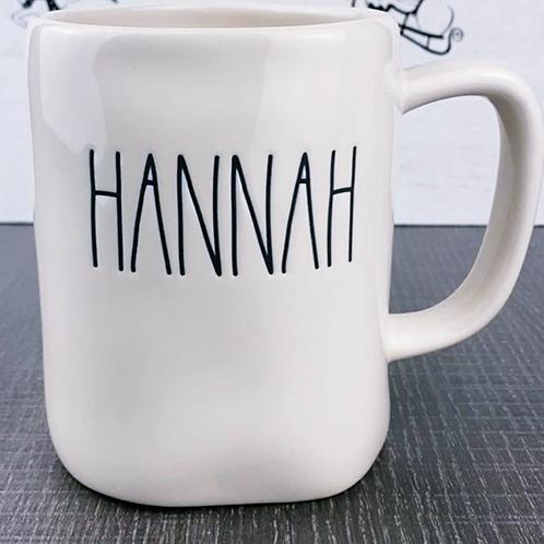 Hannah Mug