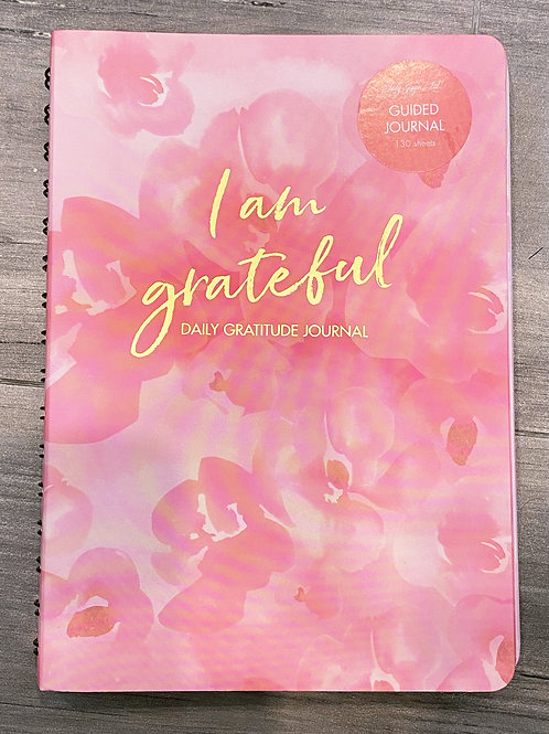 I am Grateful Daily Gratitude Journal