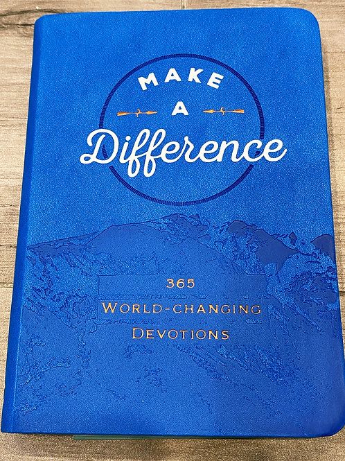 Make a Difference Devotions
