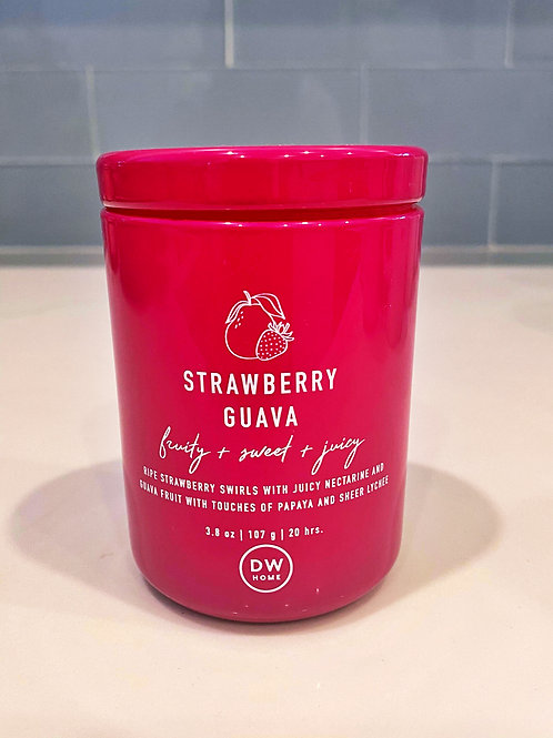 Strawberry Guava Candle, 3.8 oz