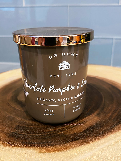Chocolate Pumpkin Sea Salt Candle, 3.8oz