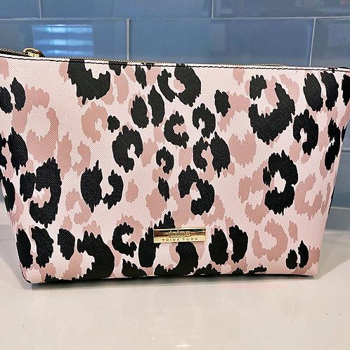 TT Pink Leopard Cosmetic Bag