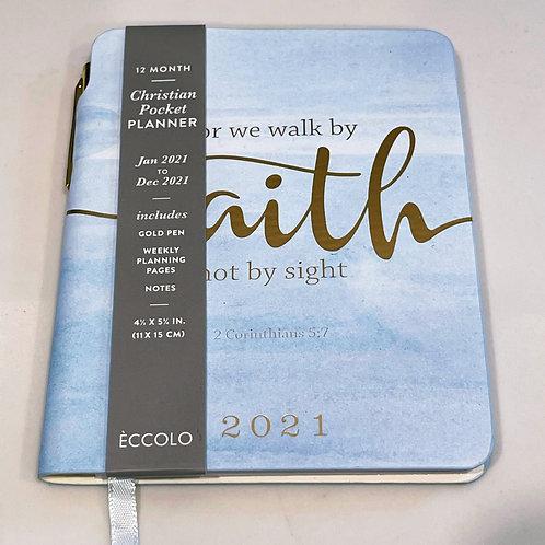 Walk by Faith 2021 Pocket Planner