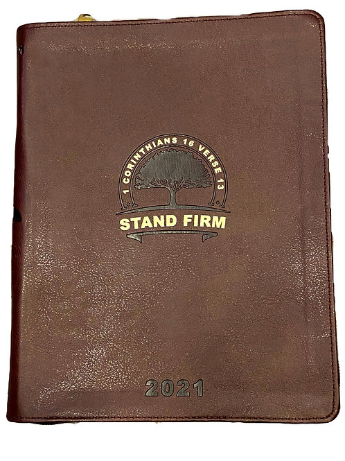 Stand Firm 2021 Planner