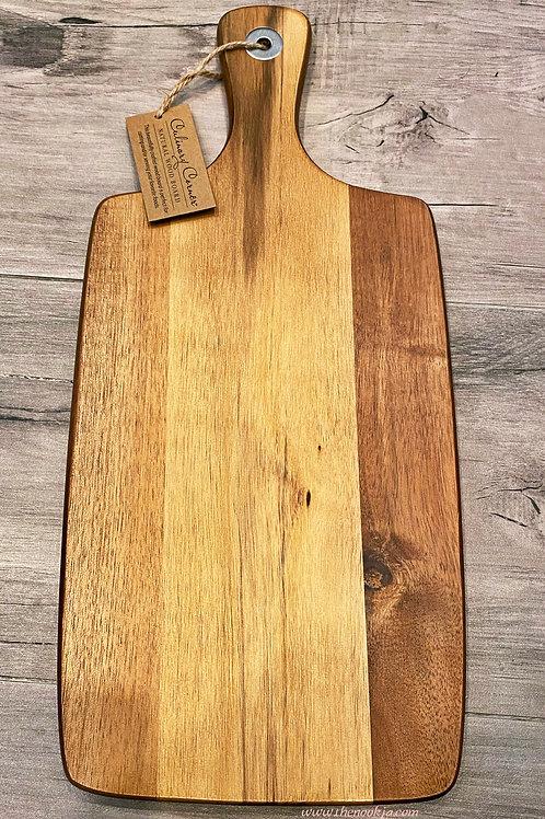 CC Acacia Wood Board, 16 inch
