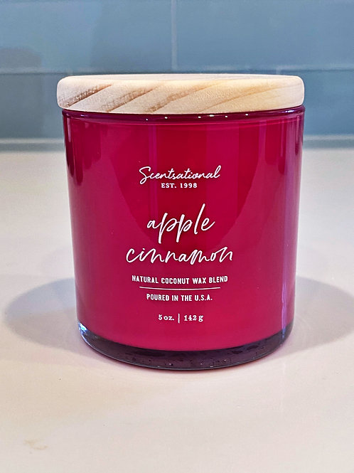 Apple Cinnamon Candle, 5oz