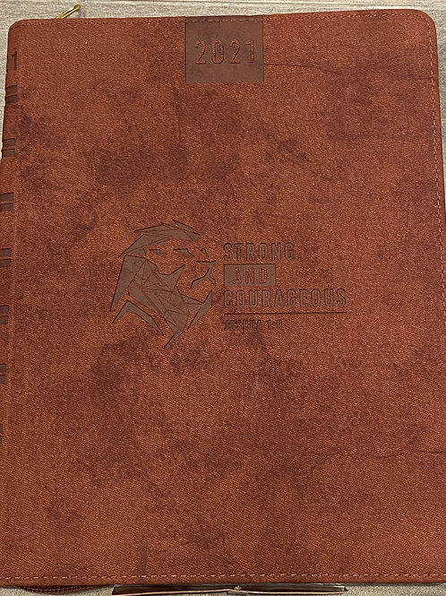 2021 Strong & Courageous Planner