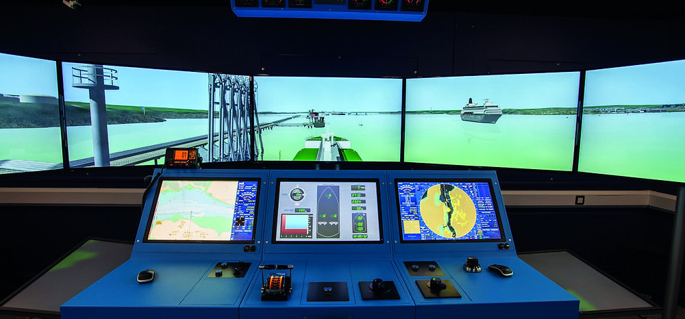 Milford Haven's simulator suite has the potential to put you at the helm of any marine vessel, in any port.