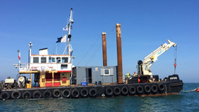 Jenkins Marine Utility Vessel Goes Diving