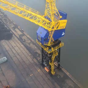 Rope and Sling Provides Rigging and LOLER Services for Crane Refurbishment