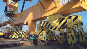 Crane Seismic Isolation System
