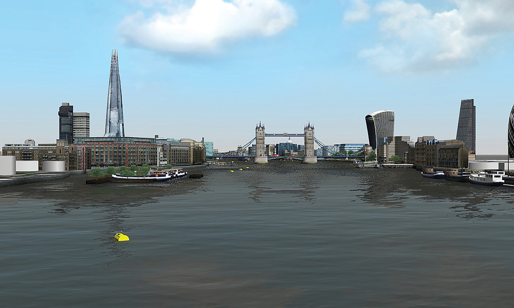 HR Wallingford has created a River Thames navigation simulation to assess Tideway's fleet of vessel masters