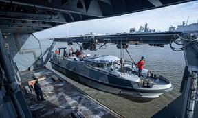 Expeditionary Survey Boat Hydrograaf Named at Damen Shipyards Den Helder