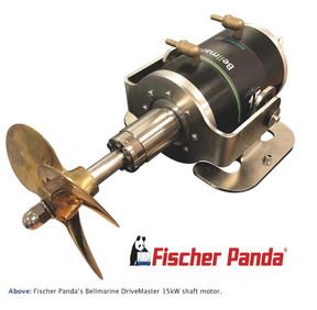 Fischer Panda: Fischer Panda named exclusive UK distributor for Bellmarine Electric Drive Systems