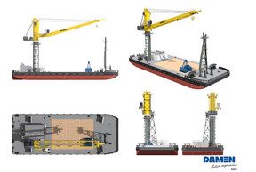 Damen orders its 110th crane from Liebherr  and celebrates their 30-year relationship