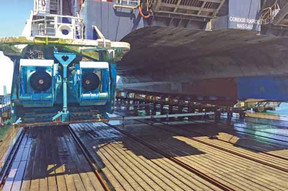 SMS COMPLETES FIRST MAJOR HSC REFIT IN CHERBOURG - LEADING THE WAY IN FAST FERRY SUPPORT