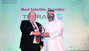 THURAYA WINS TELECOM REVIEW'S SATELLITE OPERATOR OF THE YEAR AWARD