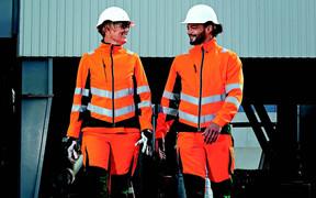 Engel High-Viz Workwear Helps Save the Environment