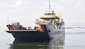 The Construction of MV Sigulu Ferry at Masese Landing Site in Walukuba-Masese Division in Jinja Muni