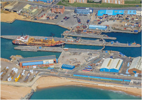 Southampton Marine Services partners with Shoreham Port to expand dry dock facilities