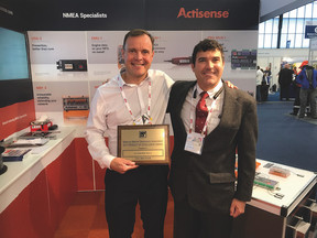 Actisense achieve product excellence awards hat-trick