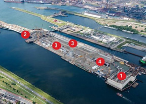 Port of Amsterdam's New Sea Lock Construction Update