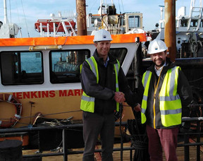 Some Happy Hello's and a Fond Farewell at Jenkins Marine!