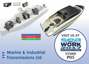 Marine goes 'Green' for Seawork 2017 – securing the future of your business with hybrid/electric tec
