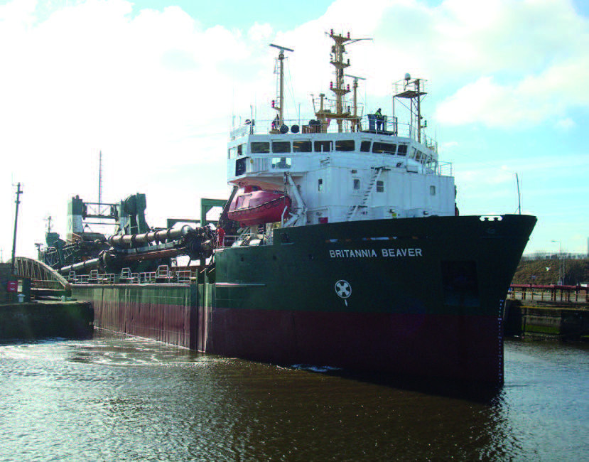 Royston has competed engine overhaul work on the Britannia Aggregates' Britannia Beaver