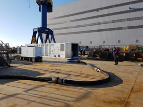 Damen's Ballast Water Treatment service available in eight Northern European Ports