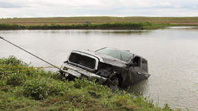 Dodge Pick-Up Truck Located Using Underwater Sonar