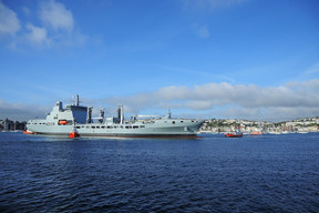 A&P GROUP WELCOMES RFA TIDERACE TO UK WATERS TODAY