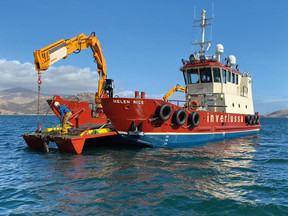 21.0m Workboat for Inverlussa Marine Services