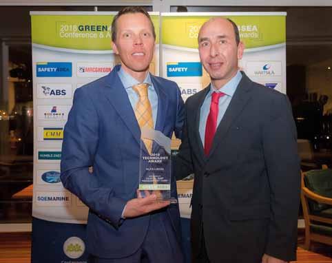 Alfa Laval wins prestigious GREEN4SEA Technology.Award for ballast water treatment system.