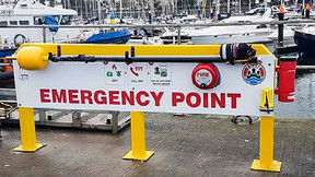 """Marina Safety Boosted With Reach and Rescue Telescopic Rescue Poles That """"Will Save Lives"""""""