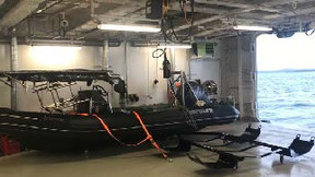 Lifting Equipment Store Provides Ex-rated Hoists for Mega Yacht