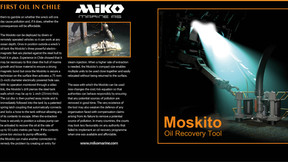 Moskito Recovers First Oil In Chile