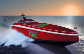 Glamox Supplies Energy Efficient LED Lighting to Team Britannia's Superboat Excalibur