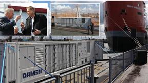 Damen Invasave Port-Based Ballast Water Management System Has World Premiere