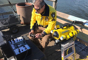 ROV Helps Recovery Dive Teams Locate Dumped Car