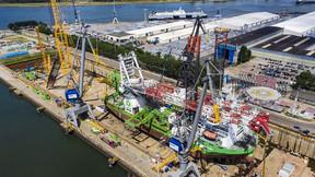 Damen Completes Maintenance Work on Innovation at Damen Verolme Rotterdam
