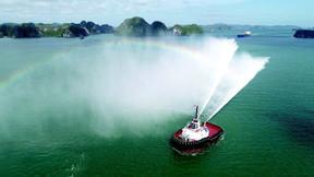 Damen Delivers ASD Tug 2813 to Con.Tug in Italy