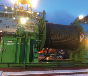 Gaylin / Rigmarine Set Spooling Standards