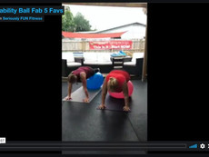 Stability Ball Fab 5 Favs
