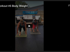 Partner Workout #5, Body Weight
