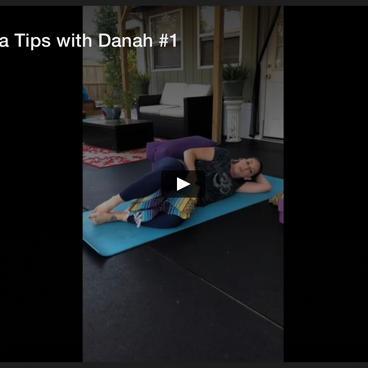 PreNatal Yoga Tips with Danah #1